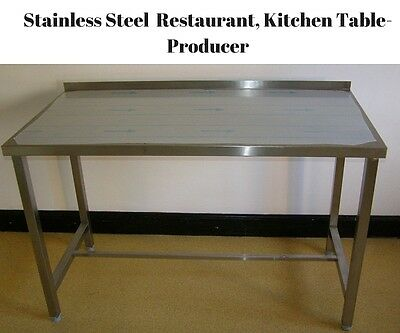 BRAND NEW Stainless Steel Tables, Kitchen, Restaurants, High Quality