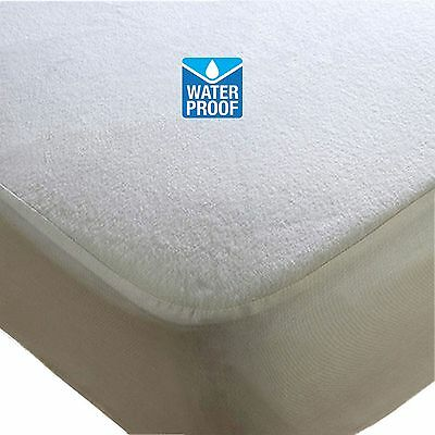 Waterproof Terry Towel Mattress Protector Topper Fitted Cover Bed Sheet Bedsheet