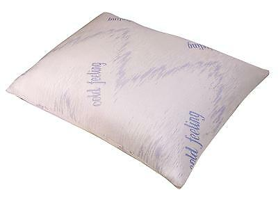 Aidapt Shredded Memory Foam With Cooling Gel Layer Pillow and Removable Cover