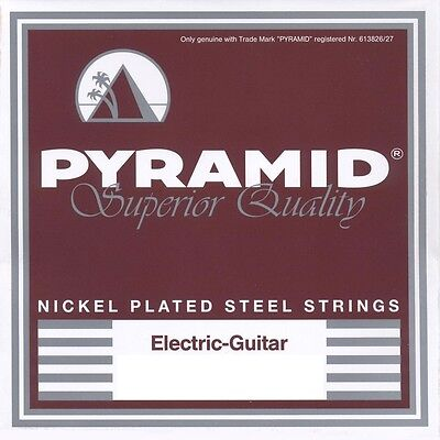 PYRAMID E-Gitarre Nickel-Plated Steel Saiten SATZ Electric Guitar Strings SET
