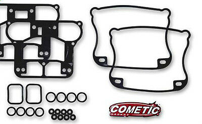 Harley Evo 84-91 Complete Rocker Box Gasket Kit. Cometic Best Quality!