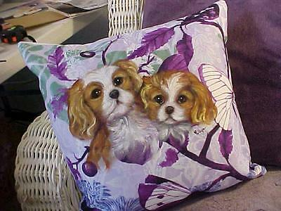 Reduced! Cavalier King Charles Handpainted Puppies Just Super!!