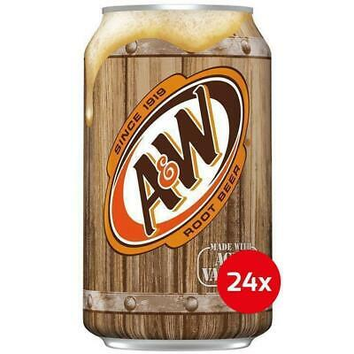 A&W Root Beer 24 x 355 ml