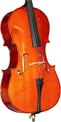 Axiom Beginners 3/4 Cello Outfit - Top quality Student Three Quarter Cello set
