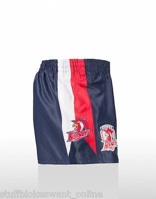 Sydney Roosters NRL Rugby League Footy Shorts Size S - 2XL - you pick!