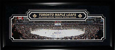 Toronto Maple Leafs Air Canada Centre Panorama Deluxe NHL Hockey Collector Frame
