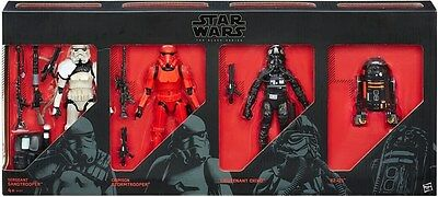 New Star Wars The Black Series 6 Inch Imperial Forces 4 Pack Action Figures