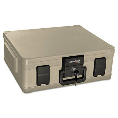 "Media File Fire Chest, 38 Cu. Ft, 20""x17""x7-3/10"",Taupe FIRSS104"