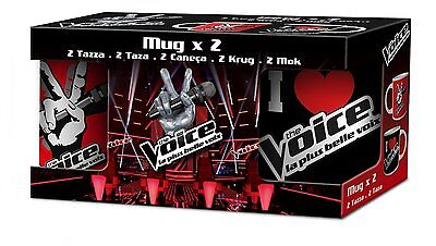 Lot de 2 Mug The Voice en céramique (1825)