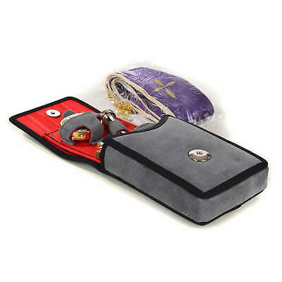 Viaticum set chamois leatherette case