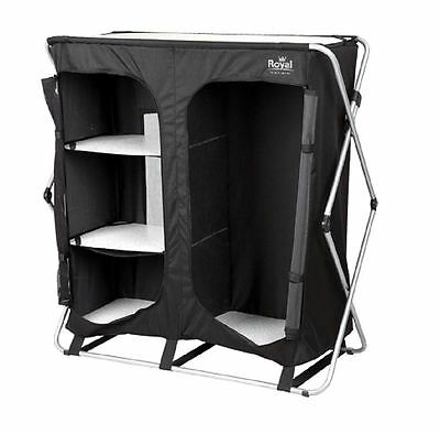 Royal Easy Up Folding Wardrobe Storage Unit Camping Cupboard 355420