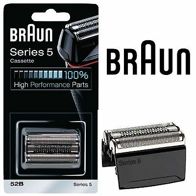 Braun 52B Series 5 Mens Shaver Replacement Foil & Cutter Cassette Cartridge Head
