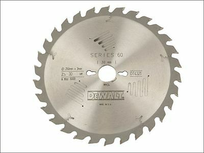 DEWALT - Circular Saw Blade 250 x 30mm x 40T Series 60 General Purpose