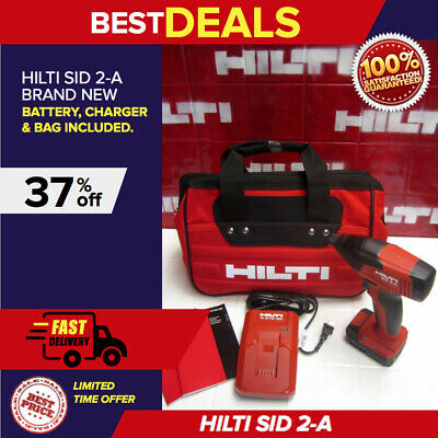Hilti Sid 2-A Impact Driver Complete Kit With Hilti Bag, Newest Model, Fast Ship