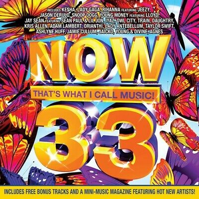 Various Artists : Now 33: Thats What I Call Music CD