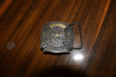 Volunteer Fireman Belt Buckle Tiffany Studio