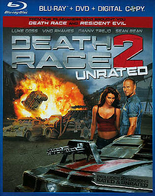 Death Race 2 (Unrated Edition) [Blu-ray] Blu-ray