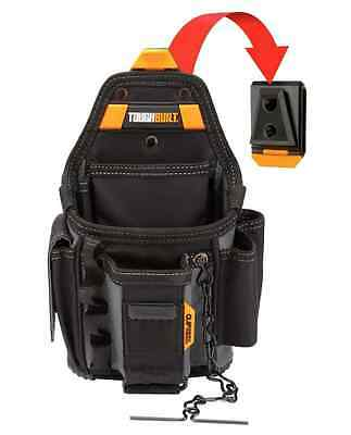 TOUGHBUILT 13 Compartment Electrician Tool Pouch Electricians Tools Storage New