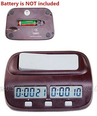 Pro Digitale Schachuhr Competition Time Keeper Turnier Game Master