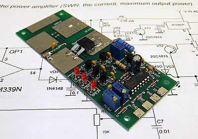 Protection unit LDMOS MOSFET amplifier (SWR, current, max out power)