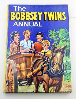 THE BOBBSEY TWINS ANNUAL Hardcover Childrens Book Kids 1956