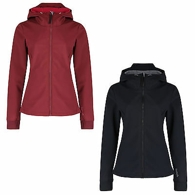 Bench Demography Softshelljacke Damen Outdoor winddicht mit Kapuze Wassersäule