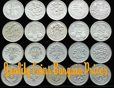 Wide Selection of British One pound Coins £1