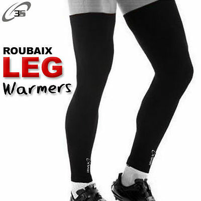 Cycling Leg Warmer Winter Running Thermal Roubaix Knee Cycle Warmers S-M-L-XL