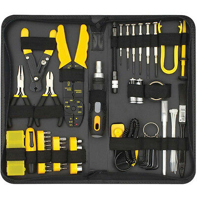 Sprotek 58 Piece Computer Repair Tool Kit In Durable Zipped Storage Case