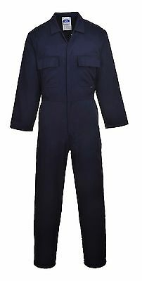 Portwest Mens Boilersuit Overall Student Mechanics Coveralls PPE Workwear - S999