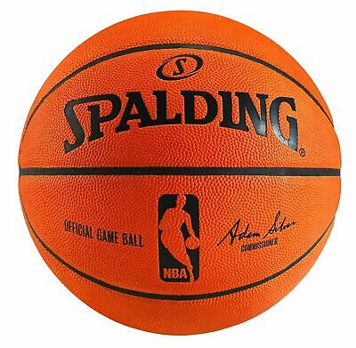 NBA Official Authentic Spalding Full Size Game Ball Basketball - New in Box