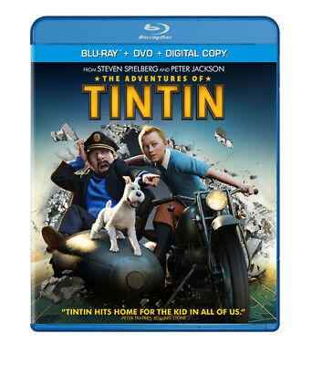 The Adventures of Tintin (Two-Disc Blu-r Blu-ray