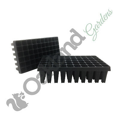 2 X 60 Cell Root Trainers Plug Plant Seed Tray Extra Large Trainer Rootrainers