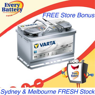 Varta AGM Car Battery E39 Start Stop - Free Fitting and Computer reset in stores