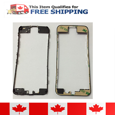 iPhone 5c Black LCD Supporting Frame Bezel With Adhesive