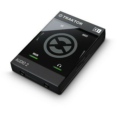 Native Instruments Traktor Audio 2 MK2 Audio Interface Premium DJ Soundcard
