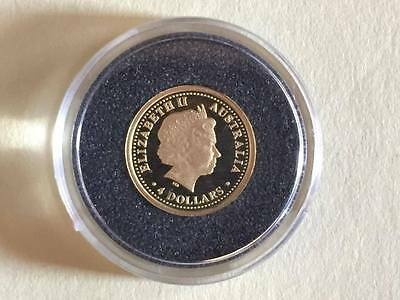 "Australien 4 Dollars 2006 ""FIFA WORLD CUP"" gold 999/1000"