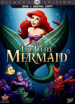 The Little Mermaid (Diamond Edition) DVD