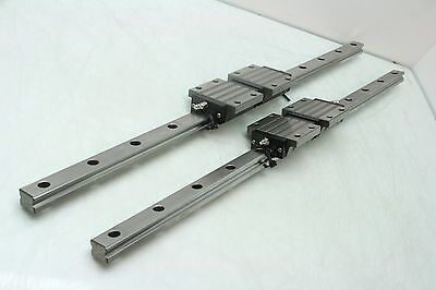 2 Misumi SSXW 33 High Load Linear Guides Linear Bearings 700mm Long