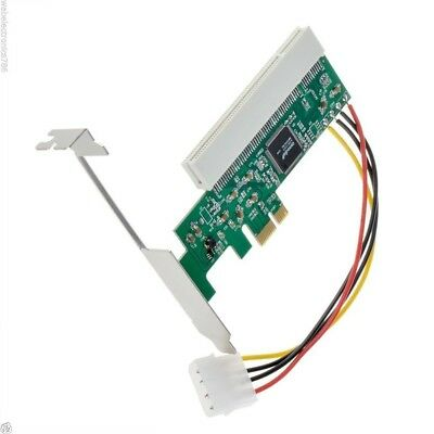 REPLACEMENT PCI Express to PCI Adapter Card Asmedia1083 chipset 32bit AC385