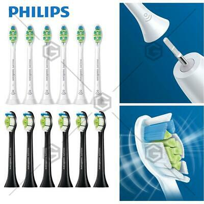 6Philips Black &White Sonicare Toothbrush heads Genuine Replacement free express