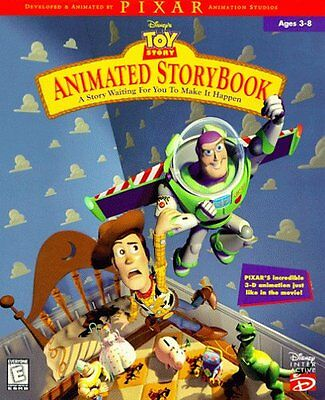 Toy Story - Animated Story Book CD