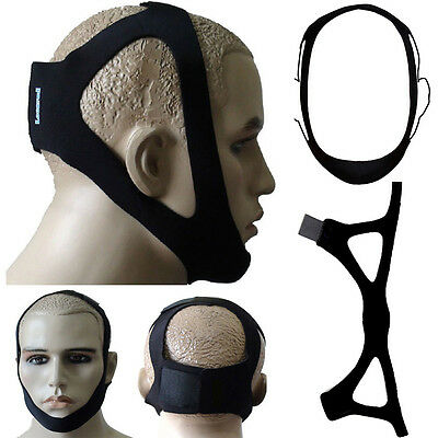 Stop Sleep Snoring Aid Solution Anti Snore Chin Jaw Support Strap Belt HOT SALE