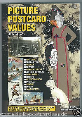 Picture Postcard Values Catalogue 2016 /17 PPV 40th Edition NEW OUT
