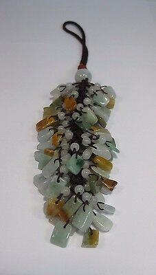 beautiful home or car safety blessing jade pendant