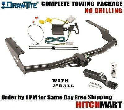 "Fits 2014-2019 Toyota Highlander Class 3 Trailer Hitch Package  2"" Ball    75896"