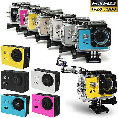 SJ4000 2.0inch 12MP Waterproof Sports DV Action Full HD 1080P Car Bike Camera