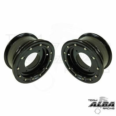 Kawasaki KFX 400 KFX 450R  Rear Wheels  Beadlock  10x8  3+5 4//110 Alba Racing BP