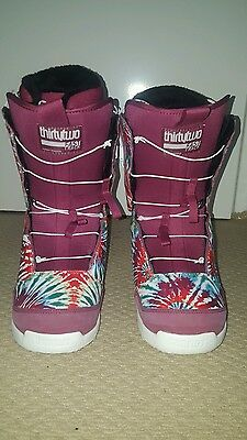 Snowbaord boots 2015, Thirtytwo size 10