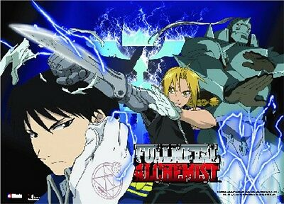 *NEW* Fullmetal Alchemist: Edward Alphonse Roy Wall Scroll (Landscape) by GE